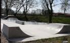 Wykonanie skateparku w Stopnicy metoda natrysku na mokro